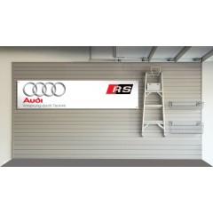 Audi RS Garage Banner