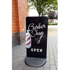 Barber Shop EcoFlex Pavement Sign