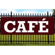 Cafe PVC Banner