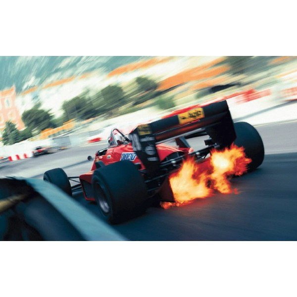 Classic Ferrari F1 Poster