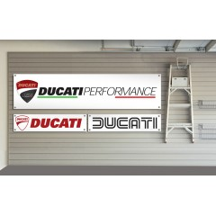 Ducati Motorcycles Garage / Workshop Banner