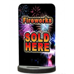Fireworks Sold Here Ecoflex Pavement Stand