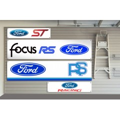 Ford RS Motorsport Garage / Workshop Banner