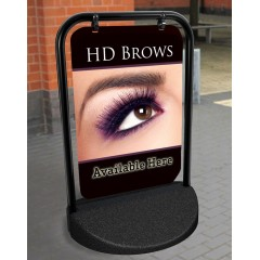 HD Brows Swinger Pavement Stand