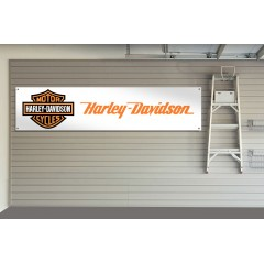 Harley Davidson Motorcycles Garage / Workshop Banner