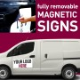Magnetic Van Signs