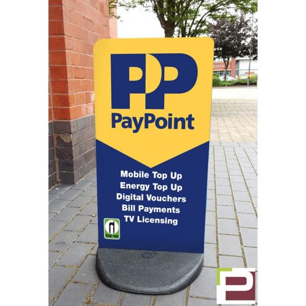 Pay Point Ecoflex Pavement Stand