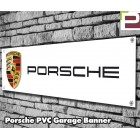 Porsche Garage/Workshop Banner