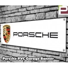 Porsche Garage/Workshop Banner