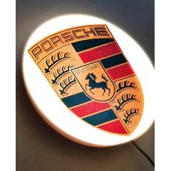 Porsche LED Illuminated Wall Sign