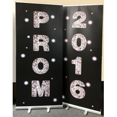 PROM NIGHT Rollerbanners