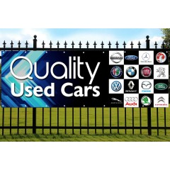 Quality Used Cars PVC Banner