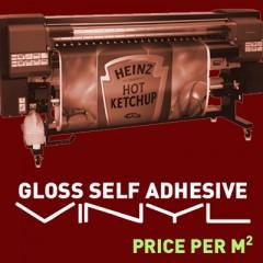 Gloss Self-Adhesive Vinyl per Square Metre
