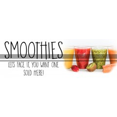 Smoothie PVC Banner