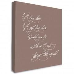 Snow Patrol Lyrics Canvas