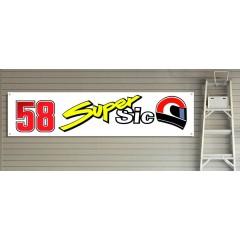 58 Super Sic Garage/Workshop Banner