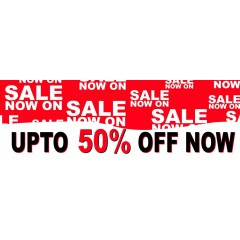 Upto Sale PVC Banner