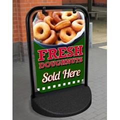 Doughnut Swinger Pavement Stand